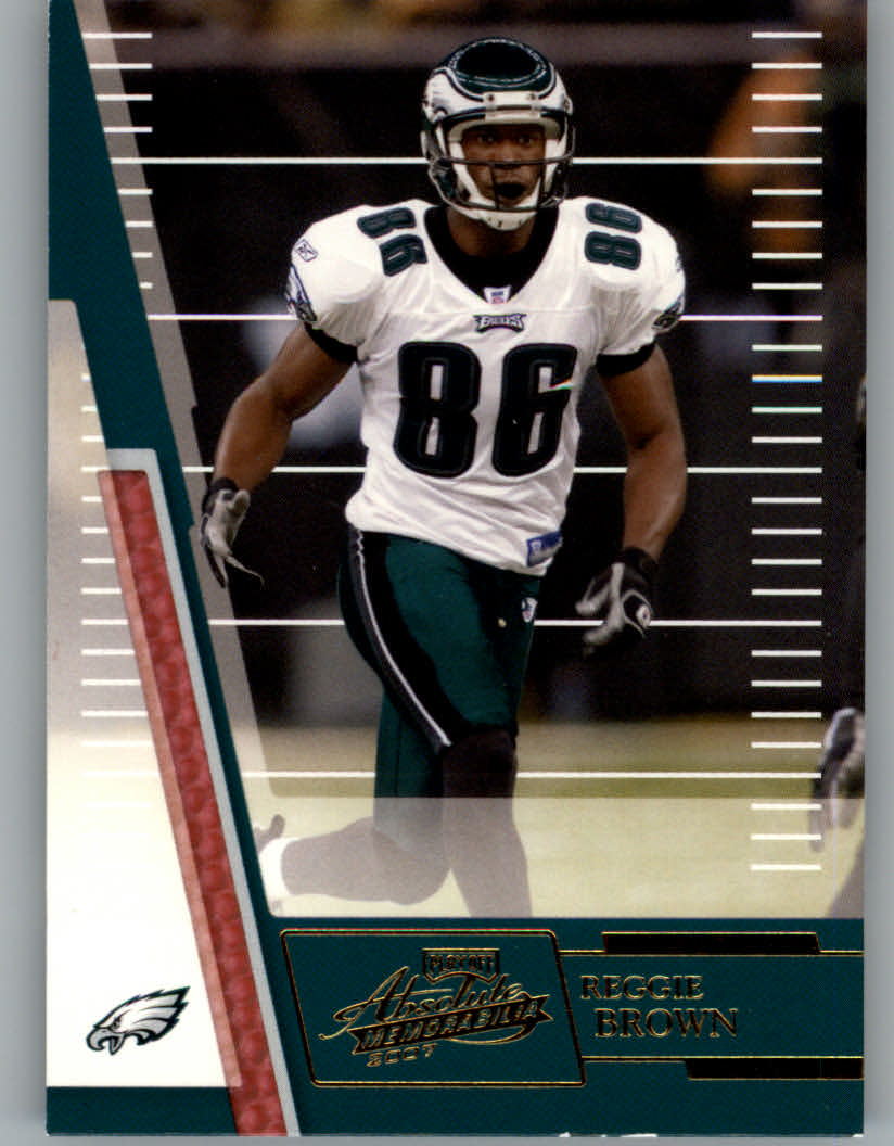 2007 Absolute Memorabilia #13 Reggie Brown