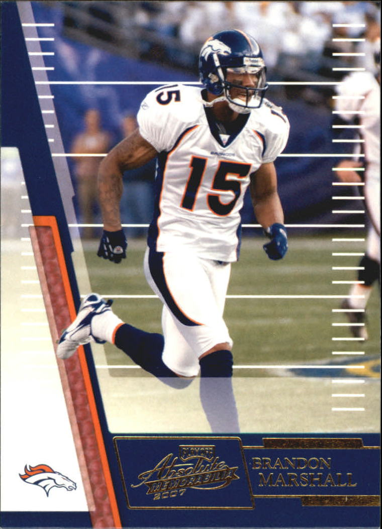 2007 Absolute Memorabilia Retail #139 Brandon Marshall