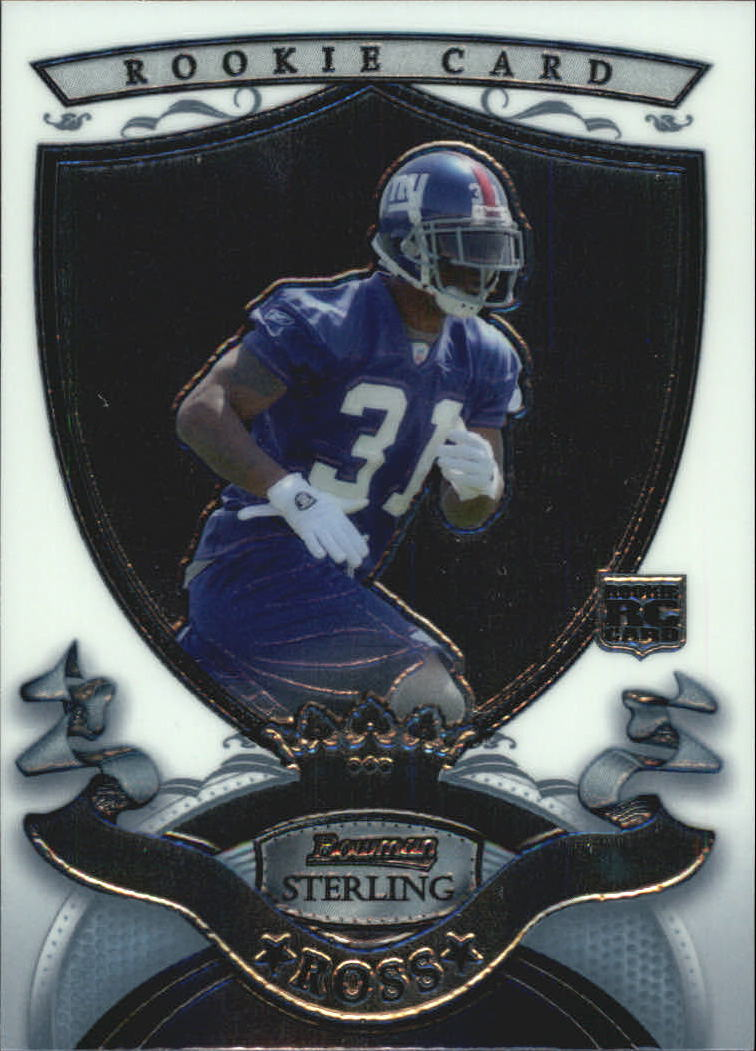 2007 Bowman Sterling #7 Aaron Ross RC
