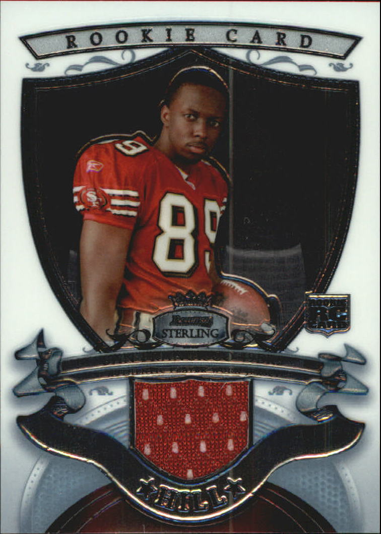 2007 Bowman Sterling #JH1 Jason Hill JSY RC