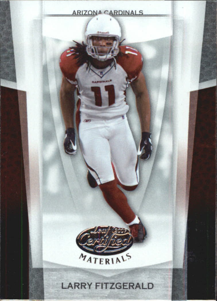 2007 Leaf Certified Materials #59 Larry Fitzgerald