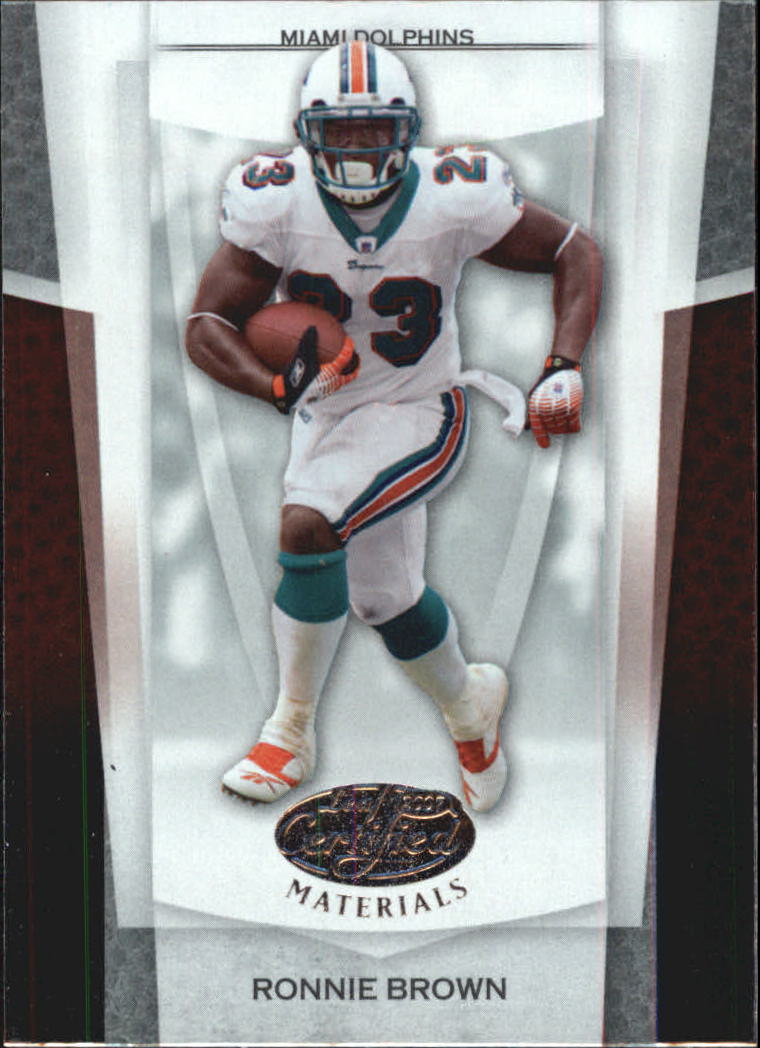 2007 Leaf Certified Materials #79 Ronnie Brown
