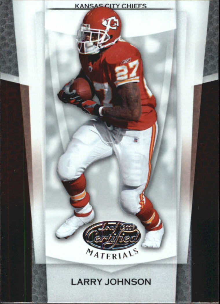 2007 Leaf Certified Materials #140 Larry Johnson
