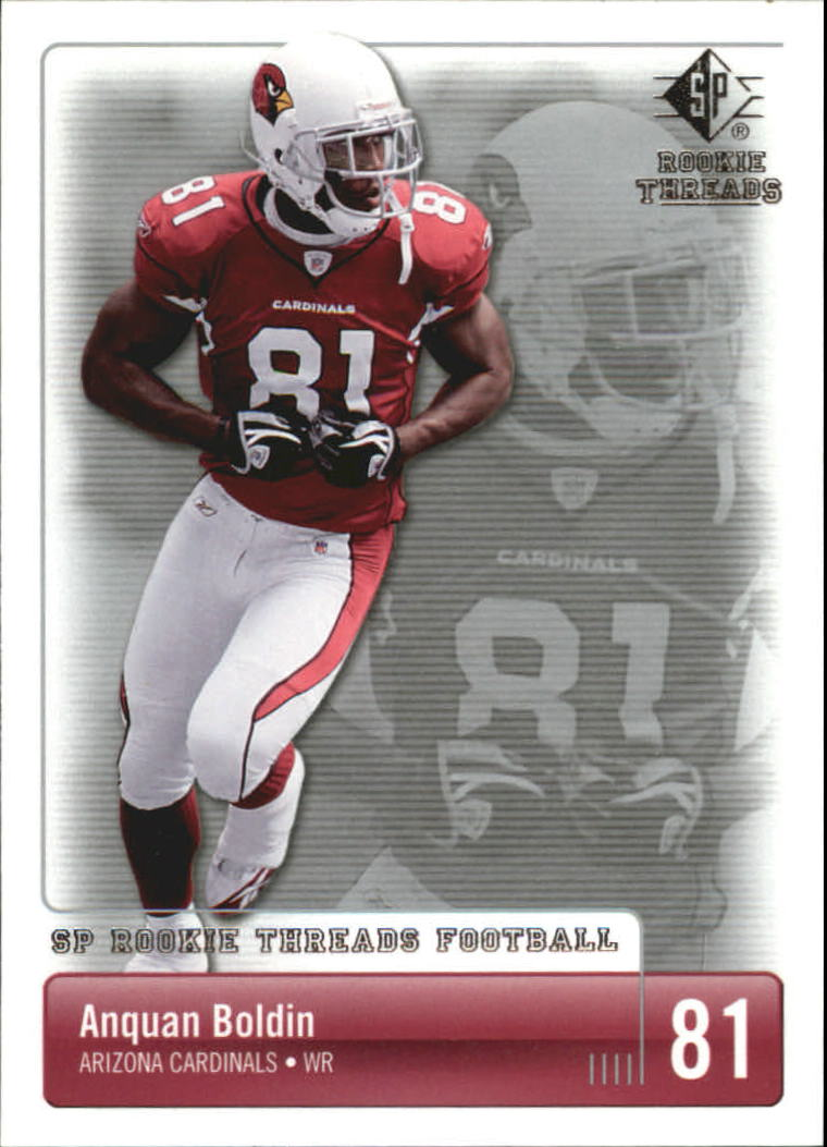 2007 SP Rookie Threads #2 Anquan Boldin
