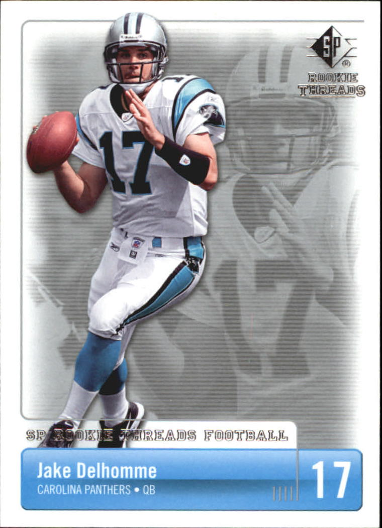 2007 SP Rookie Threads #14 Jake Delhomme