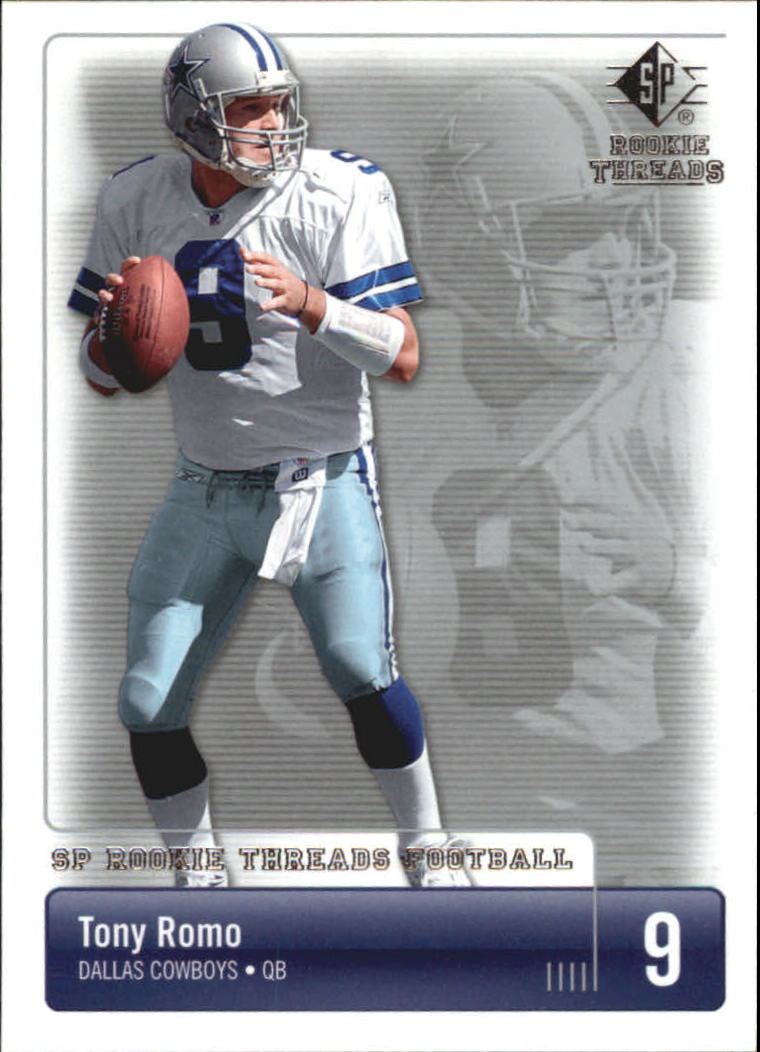 2007 SP Rookie Threads #29 Tony Romo