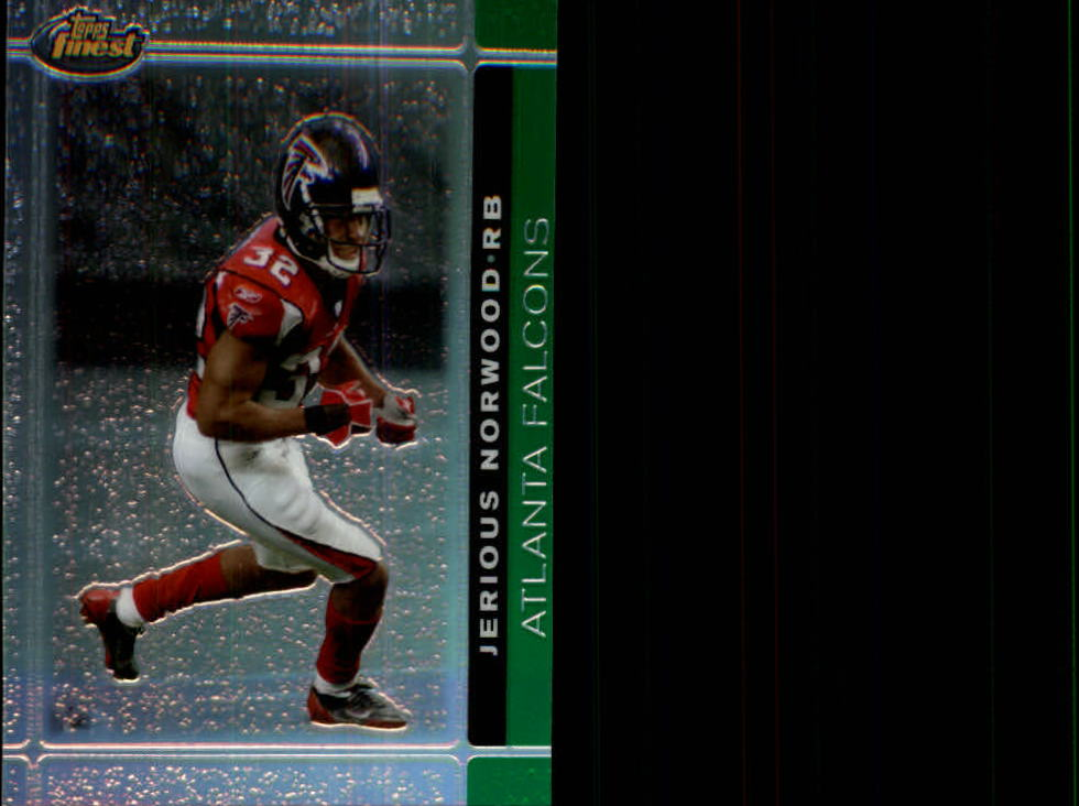 2007 Finest Green Refractors #47 Jerious Norwood