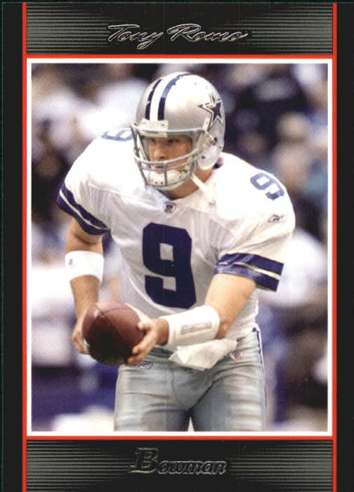 2007 Bowman #9 Tony Romo