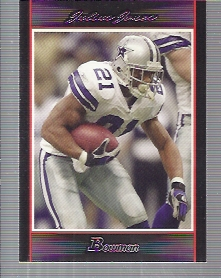 2007 Bowman #34 Julius Jones