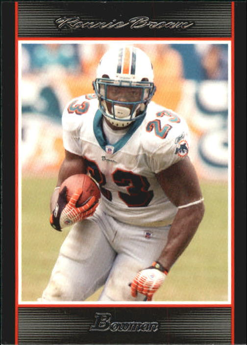 2007 Bowman #40 Ronnie Brown