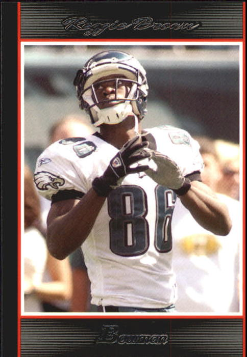 2007 Bowman #86 Reggie Brown