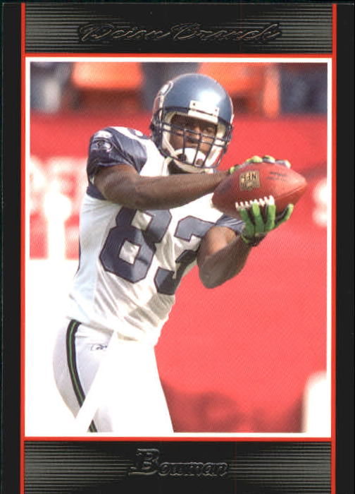 2007 Bowman #93 Deion Branch