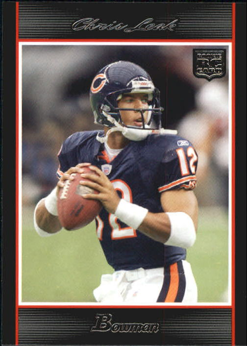 2007 Bowman #119 Chris Leak RC