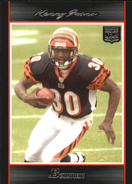 2007 Bowman #130 Kenny Irons RC