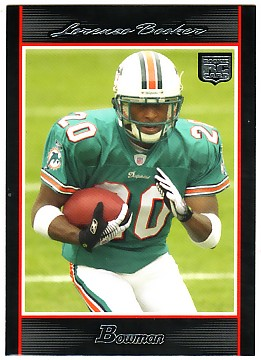 2007 Bowman #135 Lorenzo Booker RC