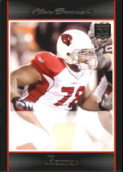 2007 Bowman #171 Alan Branch RC
