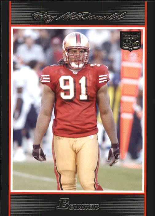 2007 Bowman #185 Ray McDonald RC