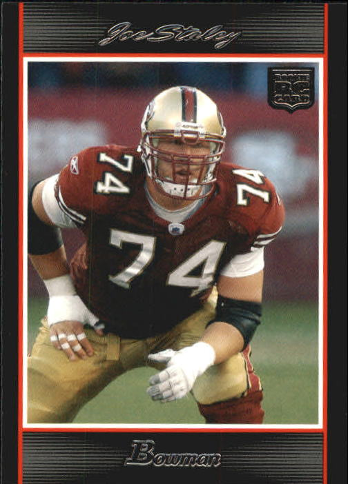 2007 Bowman #221 Joe Staley RC