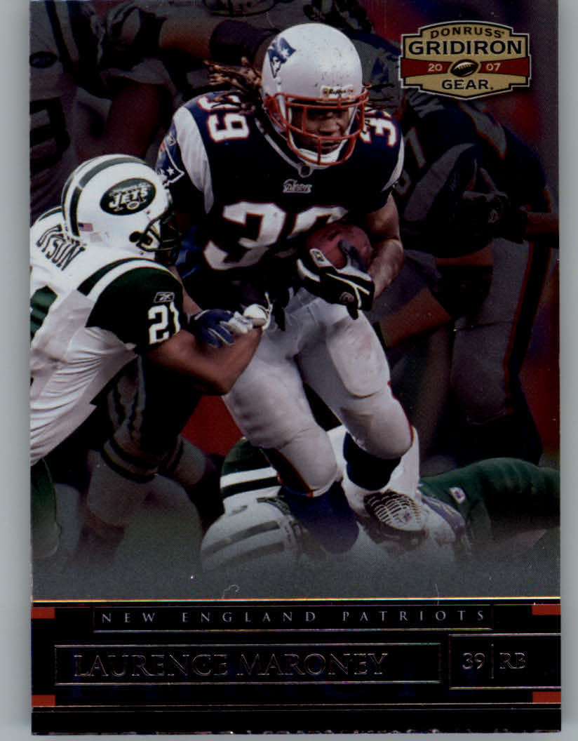 2007 Donruss Gridiron Gear #58 Laurence Maroney