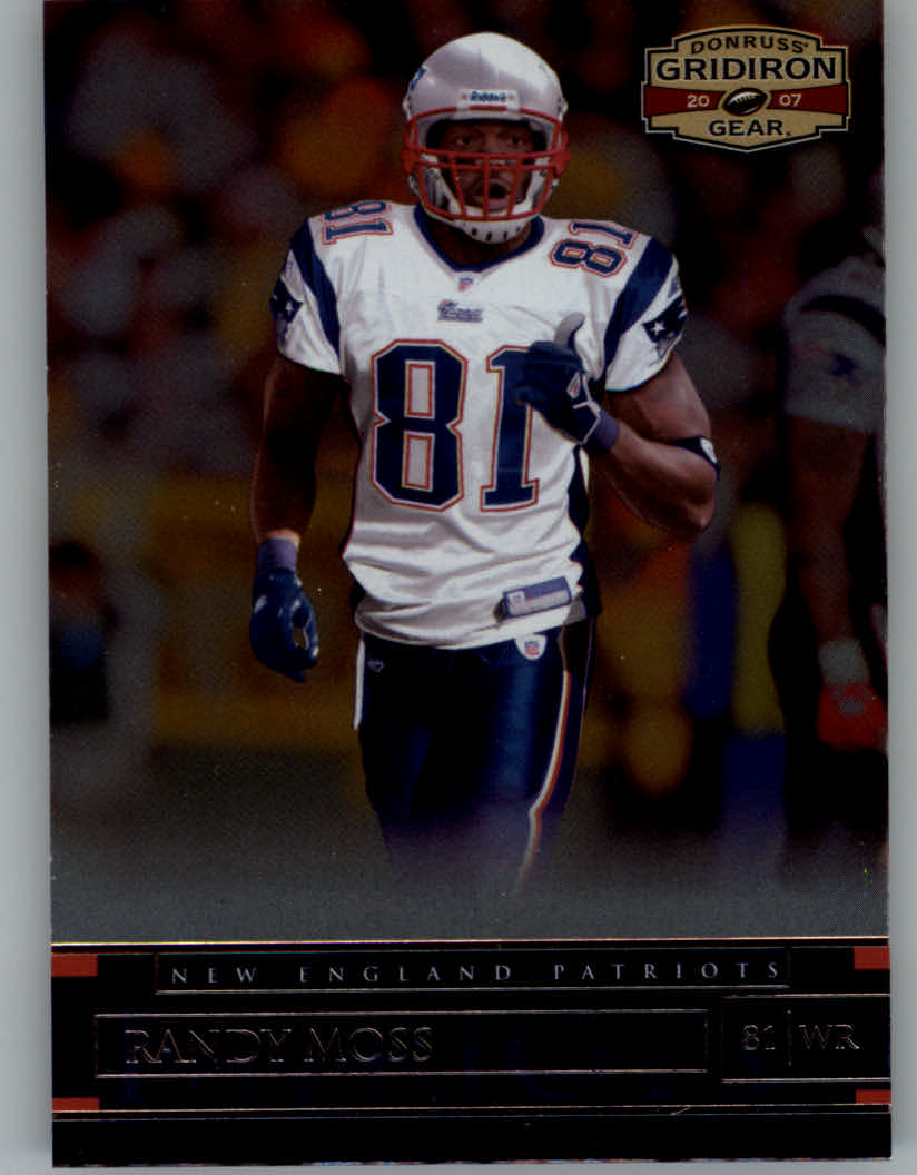 2007 Donruss Gridiron Gear #59 Randy Moss