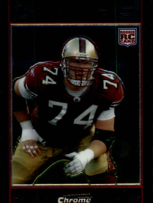 2007 Bowman Chrome #BC42 Joe Staley RC