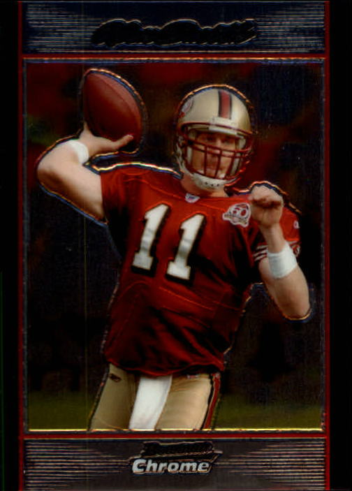 2007 Bowman Chrome #BC121 Alex Smith QB