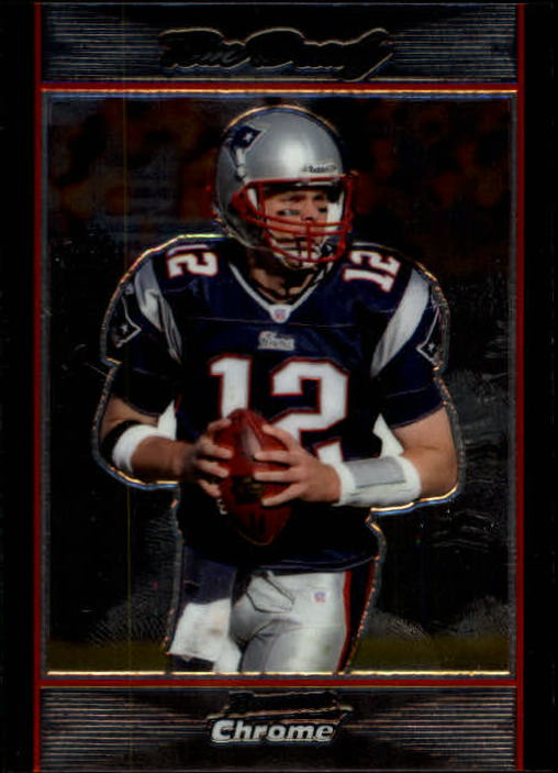 2007 Bowman Chrome #BC172 Tom Brady