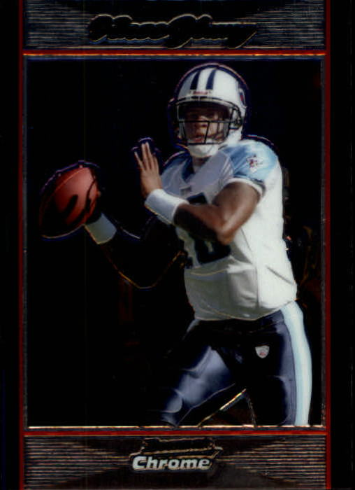 2007 Bowman Chrome #BC177 Vince Young