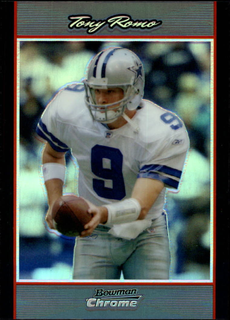 2007 Bowman Chrome Refractors #115 Tony Romo