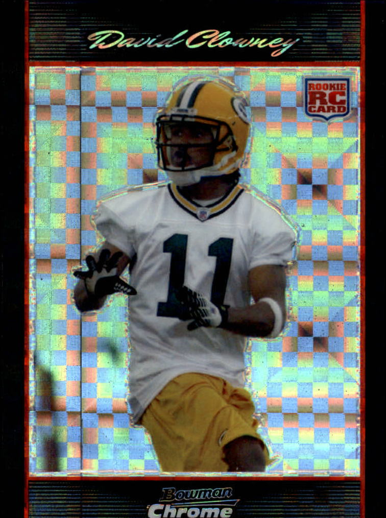 2007 Bowman Chrome Xfractors #BC2 David Clowney