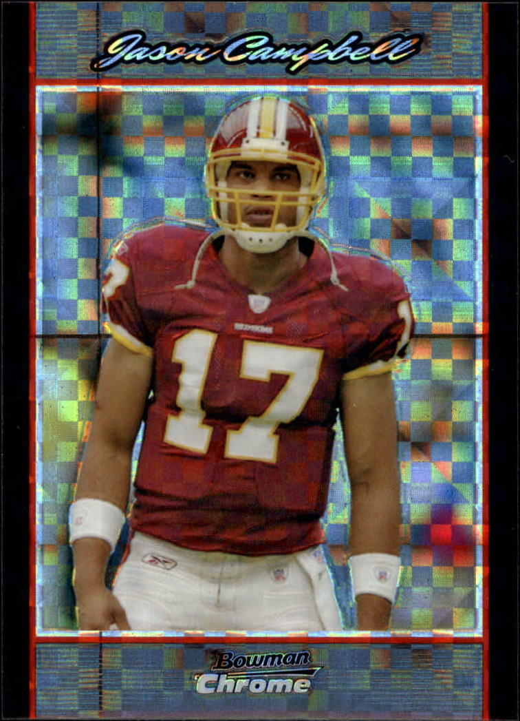 2007 Bowman Chrome Xfractors #BC112 Jason Campbell