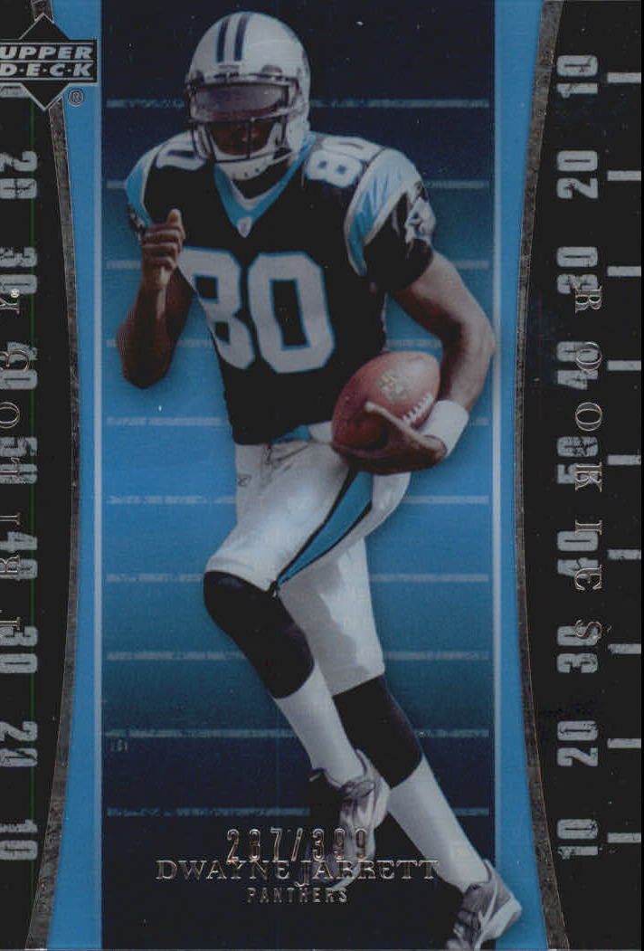 2007 Upper Deck Trilogy #111 Dwayne Jarrett RC
