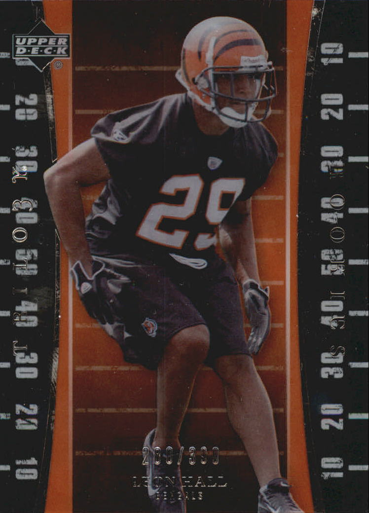 2007 Upper Deck Trilogy #115 Leon Hall RC