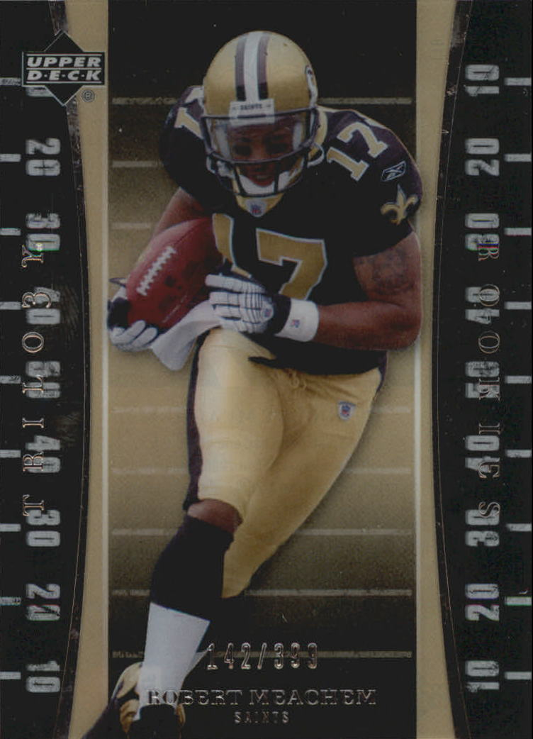 2007 Upper Deck Trilogy #116 Robert Meachem RC