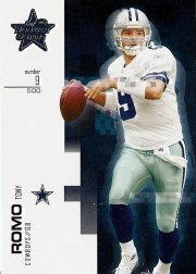 2007 Leaf Rookies and Stars #1 Tony Romo