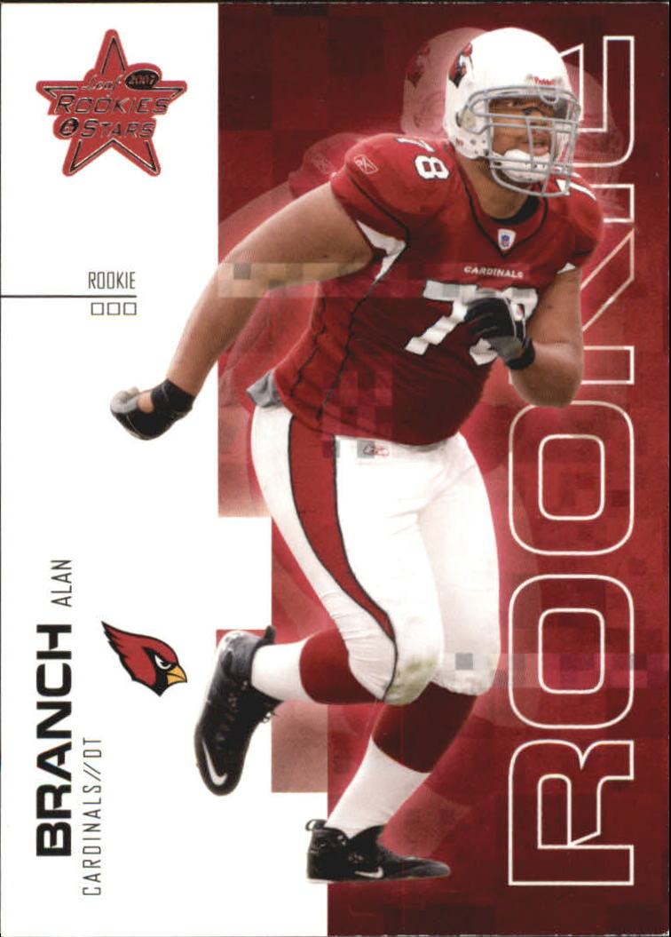 2007 Leaf Rookies and Stars #120 Alan Branch RC