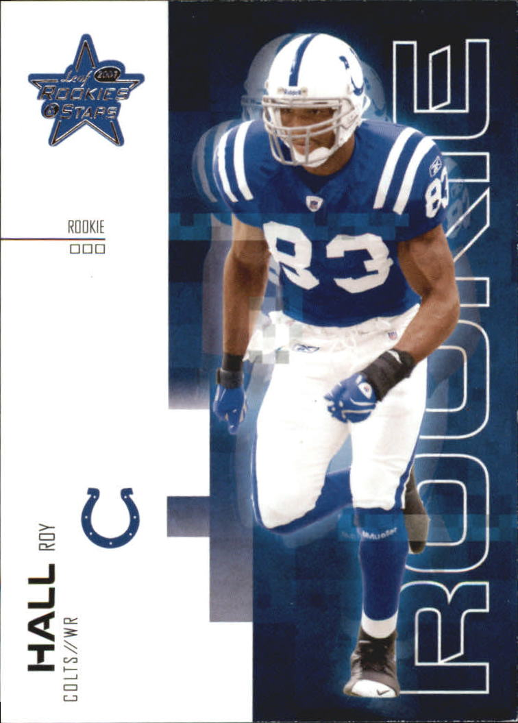2007 Leaf Rookies and Stars #196 Roy Hall RC