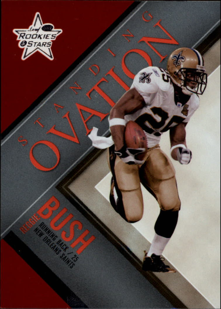2007 Leaf Rookies and Stars Standing Ovation Red  #31 Reggie Bush