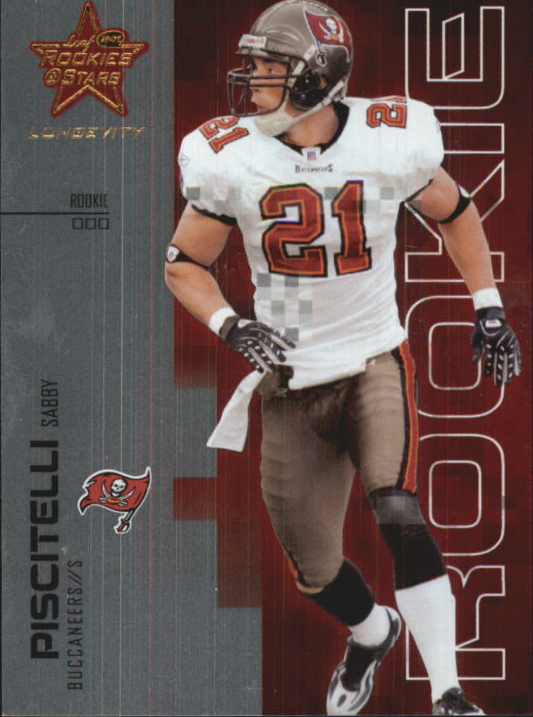 2007 Leaf Rookies and Stars Longevity #176 Sabby Piscitelli RC