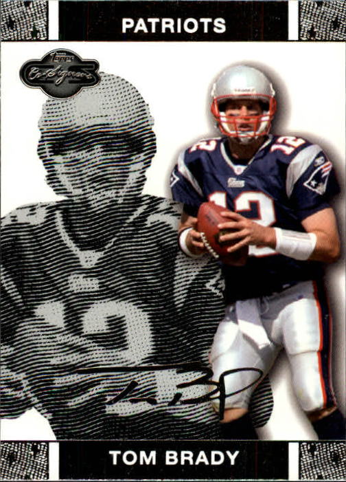 2007 Topps Co-Signers #4 Tom Brady