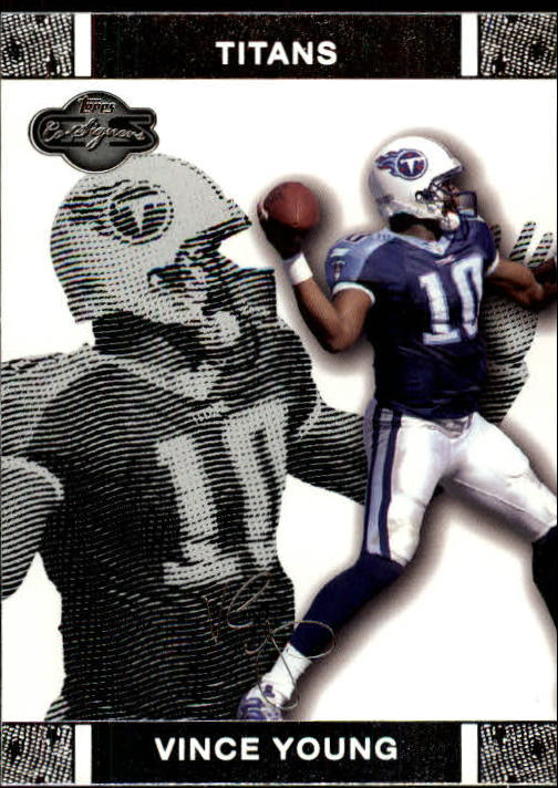 2007 Topps Co-Signers #8 Vince Young