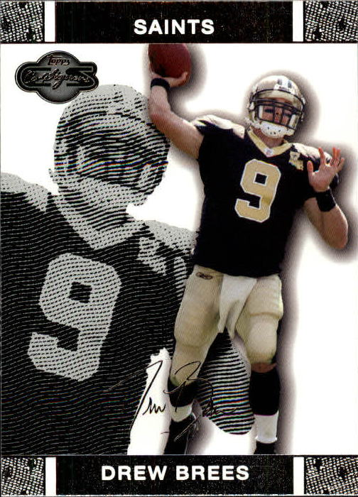 2007 Topps Co-Signers #11 Drew Brees