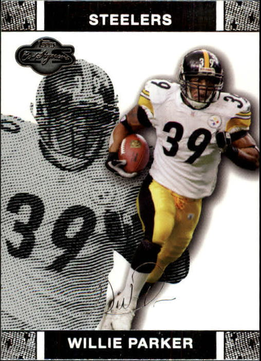 2007 Topps Co-Signers #16 Willie Parker