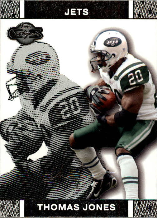 2007 Topps Co-Signers #18 Thomas Jones