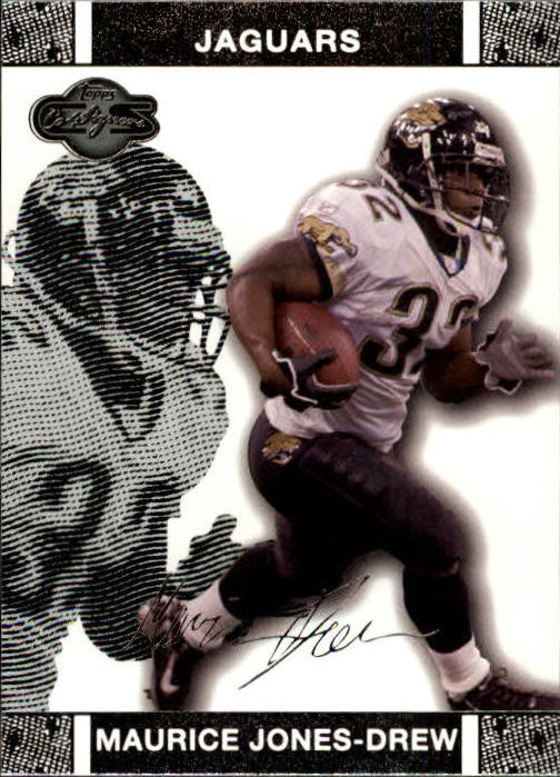 2007 Topps Co-Signers #22 Maurice Jones-Drew