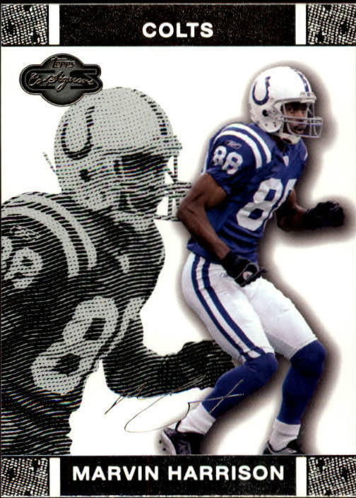 2007 Topps Co-Signers #28 Marvin Harrison