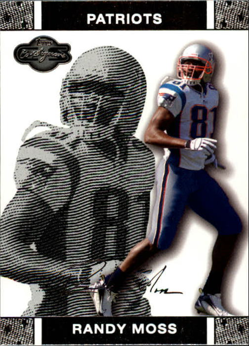 2007 Topps Co-Signers #30 Randy Moss
