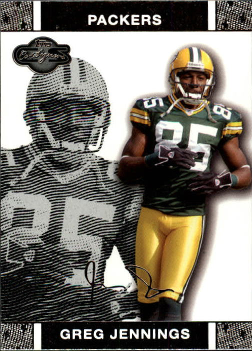 2007 Topps Co-Signers #33 Greg Jennings