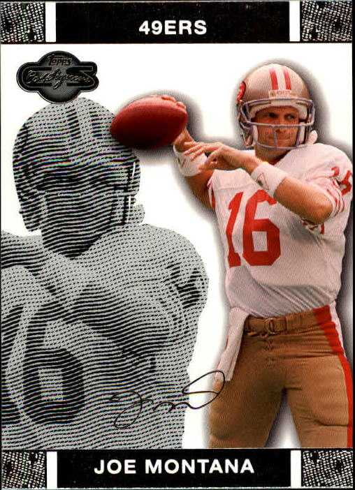 2007 Topps Co-Signers #42 Joe Montana