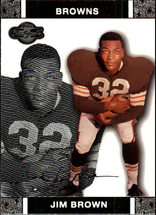 2007 Topps Co-Signers #45 Jim Brown